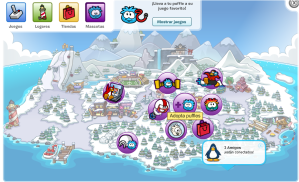 mapa de club penguin