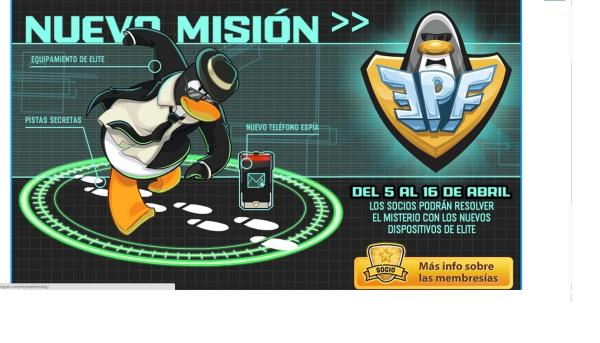 ¡Nueva mission de la epf E:elite P:pinguin :F:force!